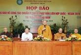 Le Vietnam accueillera à la mi-mai la fête de Vesak 2019