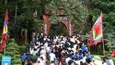 Phu Tho accueille plus de 7 millions de touristes à la Fête au temple des rois fondateurs Hùng