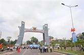 Gia Lai: inauguration du portail du poste frontalier de Lê Thanh