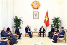 Le Premier ministre reçoit les participants à la 44e réunion du Comité exécutif de lOANA