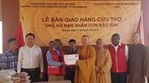 Les bouddhistes vietnamiens soutiennent les Mozambicains touchés par le cyclone Idai