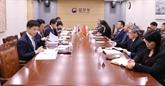 Vietnam et République de Corée renforcent leur coopération judiciaire et législative