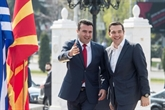 Visite historique du Premier ministre grec en Macédoine du Nord