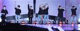 Le boys band de K-pop BTS, premier groupe sud-coréen en tête des charts britanniques
