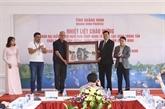 Quang Ninh reçoit une délégation de l'OANA