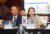 Les délégués de l'OANA 44 impressionnés par le développement de Hanoï