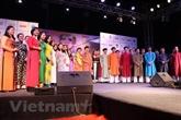L'ao dài présenté à un événement mondial de la mode en Inde