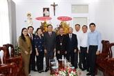 Pâques: le président du FPV présente ses vœux aux catholiques de Binh Thuân