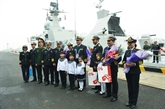 Deux navires de guerre vietnamiens en visite en Chine
