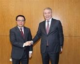 Une délégation russe en visite au Vietnam