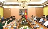 Le général Lê Hiên Vân reçoit une délégation chinoise