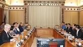 Hô Chi Minh-Ville et l'Australie occidentale cherchent un partenariat plus étroit
