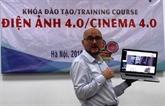 Le cinéma numérique au centre d'une formation à Hanoï