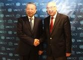 Antiterrorisme: le Vietnam s'engage à coopérer avec l'ONU