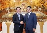 Hanoï facilitera la construction du Centre de recherche et de développement de Samsung