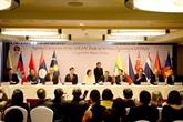 L'ASEAN signe sur le commerce deservices et l'investissement