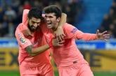 Espagne: le Barça tutoie le titre