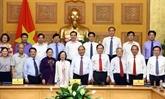 Le gouvernement et le Front de la Patrie évaluent les résultats de leur coopération