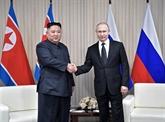 Poutine et Kim entament leur premier Sommet à Vladivostok