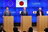 L'UE et le Japon saluent l'accord commercial bilatéral lors de leur sommet
