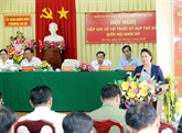 La présidente de l'AN rencontre des électeurs à Cân Tho
