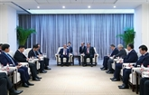 Le Premier ministre vietnamien rencontre le président du Tadjikistan à Pékin