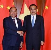 Entretien Nguyên Xuân Phuc - Li Keqiang