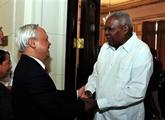 Le Vietnam et Cuba renforcent leurs relations parlementaires