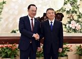 Les ministères vietnamien et chinois renforcent leur coopération