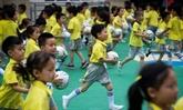 Football: la Chine lance la sélection dès la maternelle