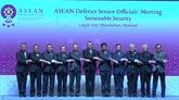 Le Vietnam à une réunion de hauts officiels de la défense de l'ASEAN