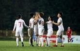 Championnat féminin AFC U-19: le Vietnam surclasse le Liban
