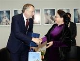 Nguyên Thi Kim Ngân rencontre un haut responsable du Parlement européen