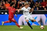 Espagne: l'euphorie Zidane retombe au Real, battu à Valence