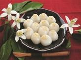 Boulettes de riz gluant farcies au sucre brun