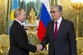 Vladimir Poutine et son homologue kazakh renforcent les liens bilatéraux