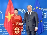 Entretien Nguyên Thi Kim Ngân et Antonio Tajani