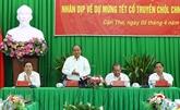 Le Premier ministre travaille avec les provinces du delta du Mékong