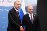 Le président turc se rendra en Russie pour discuter des projets communs