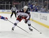 Hockey sur glace: Texier a marqué son premier but en NHL