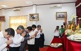 Des Vietnamiens au Laos organisent la Fête des rois Hùng