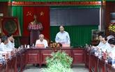 Le Premier ministre Nguyên Xuân Phuc à Soc Trang