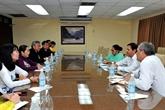 Une délégation de Hô Chi Minh-Ville sonde les opportunités de coopération avec Cuba