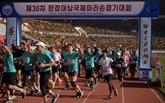 Les touristes étrangers reviennent au marathon de Pyongyang