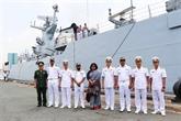 Un navire de la Marine bangladaise en visite à Hô Chi Minh-Ville