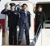 Le Premier ministre japonais en tournée avant le G20