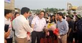 Le navire de croisière Panorama II visite la province de Quang Tri