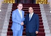 Le Premier ministre reçoit le ministre-président allemand de Thuringen