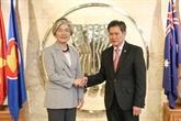 La R. de Corée souhaite élargir les relations avec lASEAN