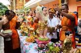 Félicitations au Cambodge à l'occasion de la fête de Chol Chnam Thmay
